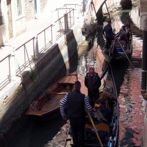 イタリア・ ヴェネツィア  ♪ お部屋からゴンドラセレナーデ ♪