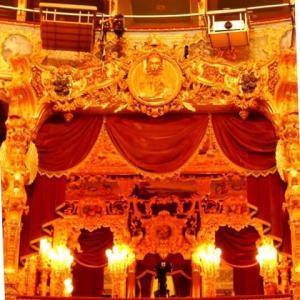 イタリア・ヴェネツィア フェニーチェ 劇場 ナポレオンのお席