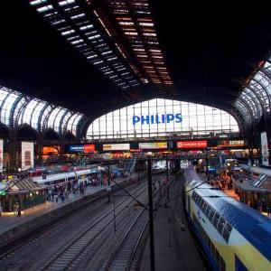 ドイツ・ ハンブルク駅