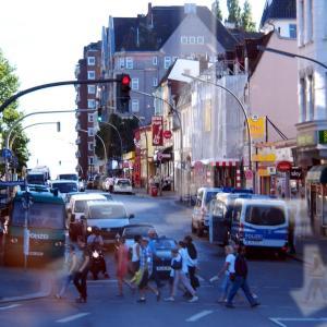 ドイツ  あやしいムード漂う歓楽街