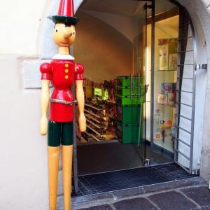 イタリア ・ ボルツァーノ テディのシャボン玉