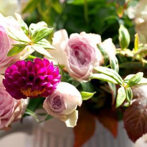 気分華やぐフラワーライフ * 10月の花贈り便 * + 過去の現実