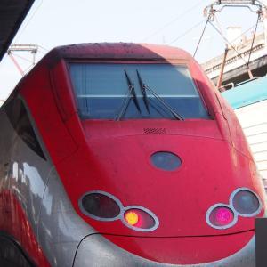 イタリア国鉄トレニタリア・フレッチャロッサの1等ビジネス