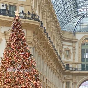 🇮🇹 本場イタリア のクリスマス ・ ミラノ  ドゥオーモそばのアーケード