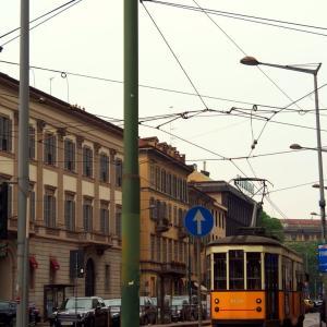 イタリア ・ ミラノ 街の風景