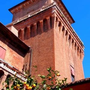 イタリア・フェッラーラ 🇮🇹  エステンセ城 天井修復❣️