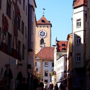 世界遺産 ドイツ・レーゲンスブルク 中世の輝き✨✨の入り口