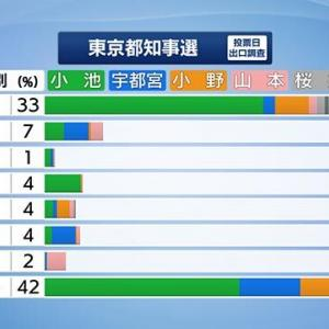 投票率が高ければ小池百合子が当選しなかったという幻想