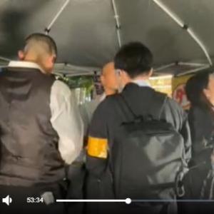 平塚正幸・国民主権党オータムツアー初日の警察沙汰を検証する