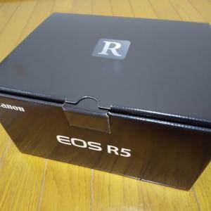 「EOS R5」手に入れました!!