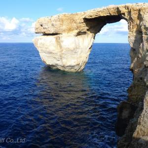 【速報】マルタの観光名所、アズールウィンドーが嵐で崩壊!