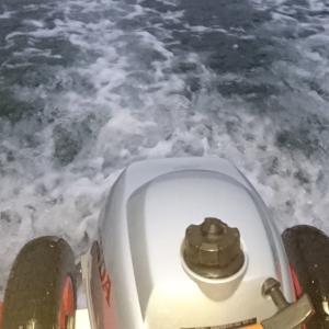 敦賀へボートエギング