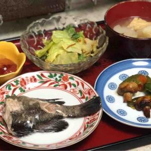 今日の晩飯「ソイの煮付け」-