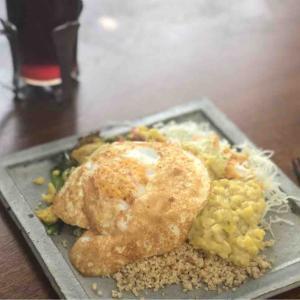 今日の昼飯と晩飯「ムング豆のカレーとクスクス」-無事