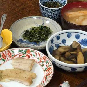今日の晩飯「骨無し白身魚の青海苔ソース焼き」-インプットし過ぎ