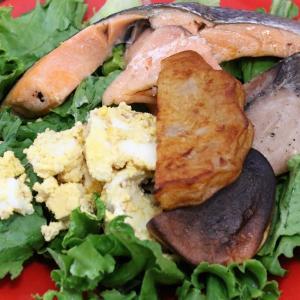 今日の昼飯と晩飯「焼き魚祭り」