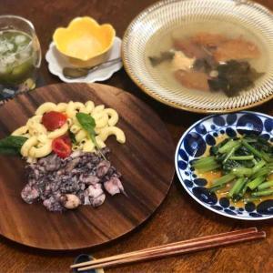 今日の晩飯「ヤリイカのガーリック焼き」