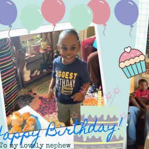甥っ子の誕生日