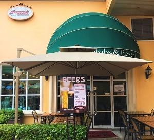黃金海岸で、チキンの激辛ヴィンダルー & 中東コロッケ・ファラフェルを☆Ebeneezer's Kebabs & Pizzeria in Gold Coast Piazza