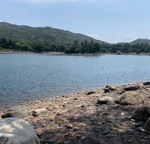 香港ディズニーの公園で湖畔ピクニック@インスピレーション・レイク☆Inspiration Lake in Hong Kong