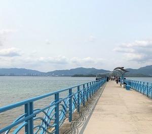 烏渓沙~恆安の沙天海の散歩道♪「馬鞍山海浜公園」☆Walk From Ma On Shan To Heng On