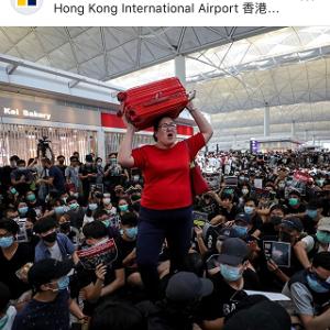 香港からの出発便全便キャンセル2日目と、香港のモスバーガー☆MOS Burger in Hong Kong