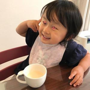 最近の娘さん(2歳8カ月)