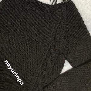 セーターの試作ーはじまりのセーター展④