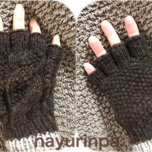 はじまりのセーター展〜国産羊毛手紡ぎ糸で編むハンドウォーマー①