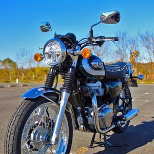 バイクを新車購入! KAWASAKI W800 2020年モデル