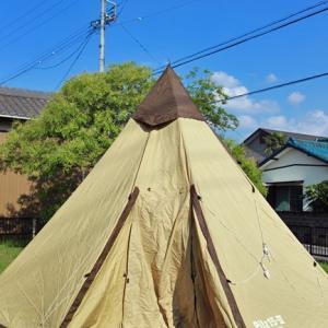 やっぱりこのテントは好き