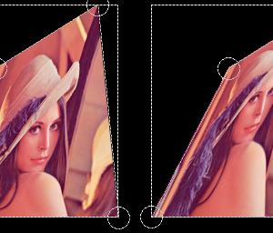 【AviUtl】簡易変形にパースをつけたスクリプト、および逆に正面を向かせるスクリプト