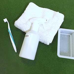 ゴルフシューズの洗い方|ウタマロクリーナーで簡単キレイ