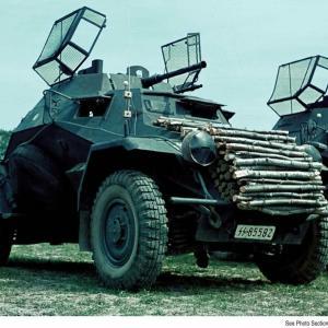 Sd.Kfz 222 と Sd.Kfz 221 カラーリバーサルフィルム