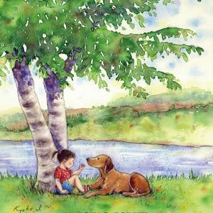 私の相方さん水彩童画の個展情報