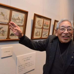 シベリア抑留体験画を描いた木内信夫さん