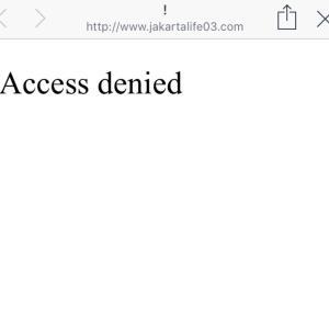 ジャカルタで私のブログが見れない事象