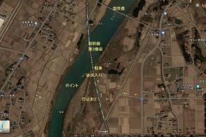 北上川ポイント紹介6.国見橋下流
