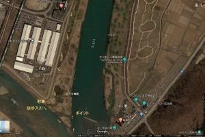 北上川ポイント紹介7.和賀川合流点
