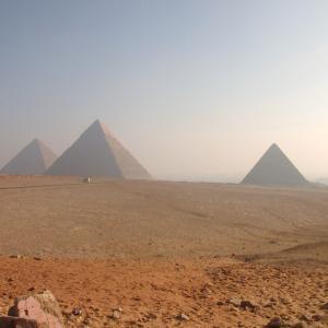 エジプト&ギリシャ旅行記2日目ギザの3大ピラミッドとラクダくん ∩^ω^∩
