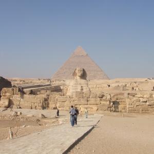 エジプト&ギリシャ旅行記2日目スフィンクスとピラミッド ∩^ω^∩