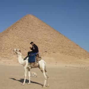 エジプト&ギリシャ旅行記2日目ダハシュールのピラミッド ∩^ω^∩