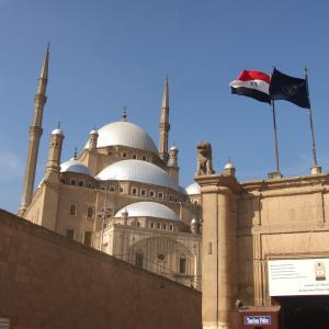 エジプト&ギリシャ旅行記3日目カイロのモスクと市場と ・:*+.\(( °ω° ))/.:+