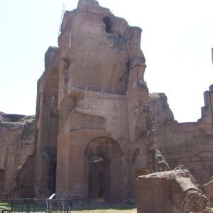 イタリア周遊旅10,11日目古代ローマ〜カラカラ浴場〜からの帰国 ٩(๑❛ᴗ❛๑)۶