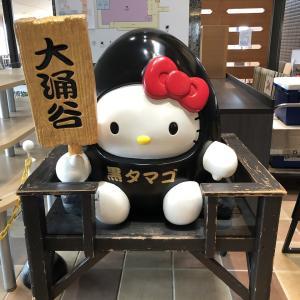 はじめての箱根旅 お蕎麦と大涌谷と黒たまご )^o^(