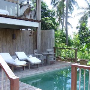 タイ バンコク&サムイ島旅6日目のんびりヴィラライフ ^_−☆