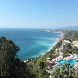 イタリア シチリア島旅1,2日目タオルミーナのホテル (๑˃̵ᴗ˂̵)♡