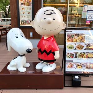 PEANUTS cafe とでらうみゃ〜フラペ (*^ω^*)