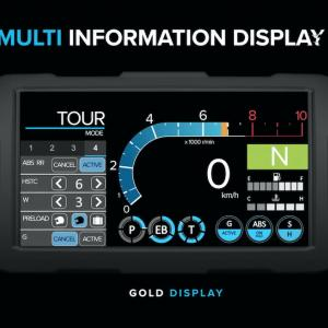 CRF1100L Africa Twin 2020 6.5インチ TFTタッチスクリーン詳報 & ロングサスペンションモデル追加