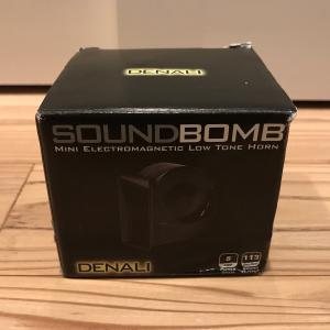 R1200GS ADVENTURE  Denali Sound Bomb Mini Horn デナリ サウンドボム ホーン 到着レビュー